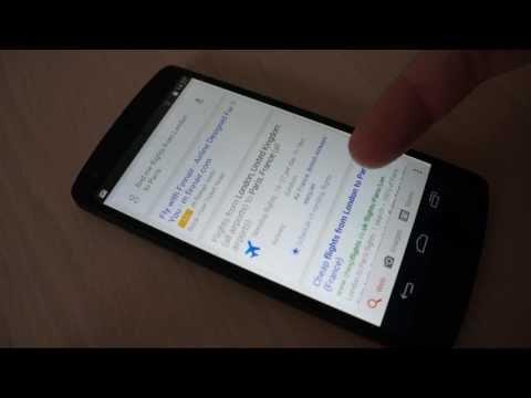 Google Now v českém prostředí