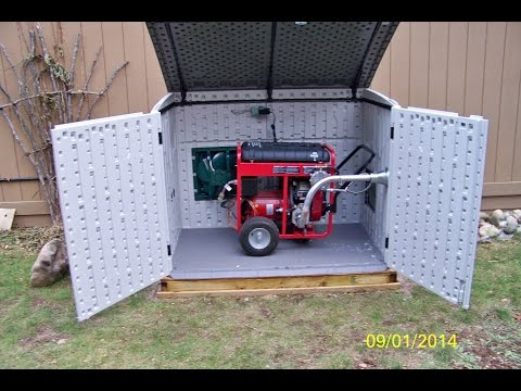 GENERATOR CONVERSION AND INSTALLATION 2015