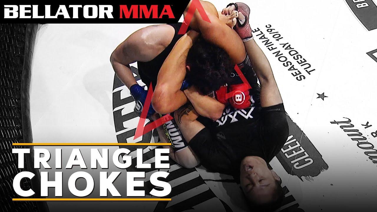 Top Crazy Triangle Finishes l BELLATOR MMA