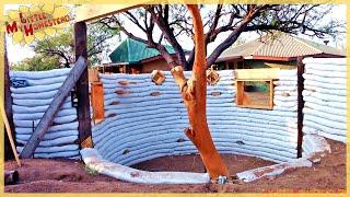 Growing Walls Around Odd Shapes | Shae's Earthbag Bedroom Ep10 | Weekly Peek
