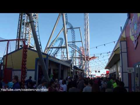 Galveston Historic Pleasure Pier (HD Park Tour) Galveston Texas