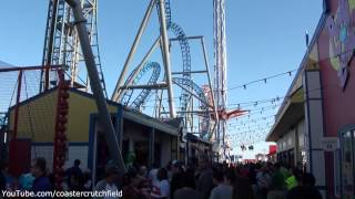 Galveston Historic Pleasure Pier (HD Park Tour) Galveston Texas