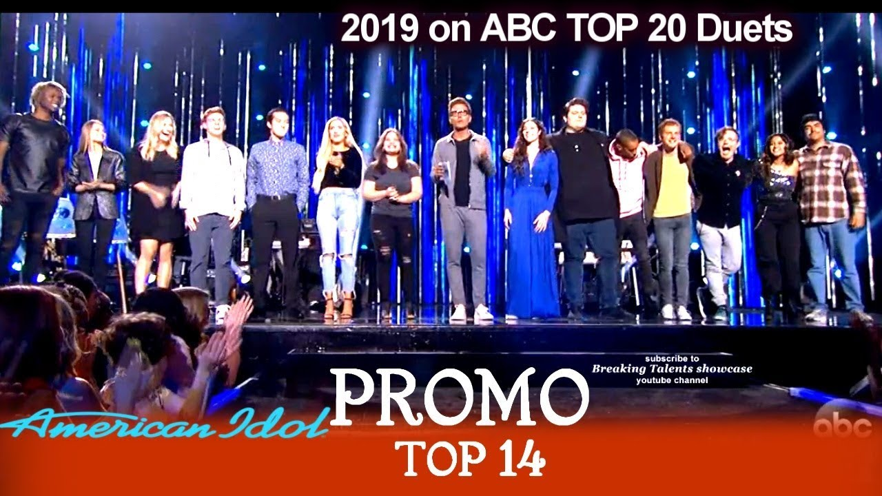 American Idol 2019 PROMO TOP 14 & Live Voting From Audience & Viewers for  April 14 & 15