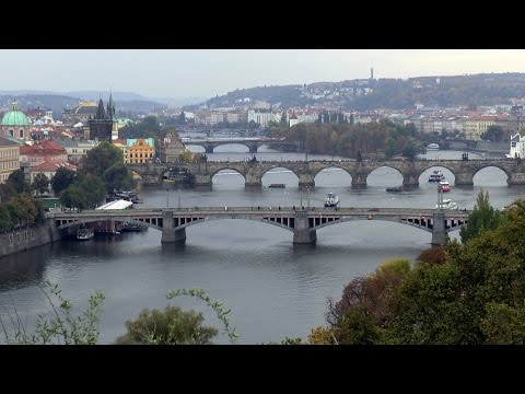 PRAGUE Metronome + beautiful views of bridges from Letná Park.