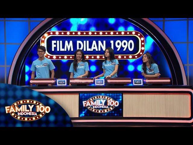 Apakah Tim Film Dilan 1990 bisa menyapu bersih? - PART 2 - Family 100 Indonesia