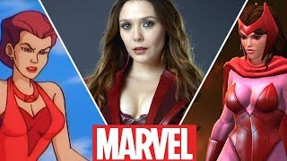 Scarlet Witch Evolution in Movies,Cartoons and Games (2018)