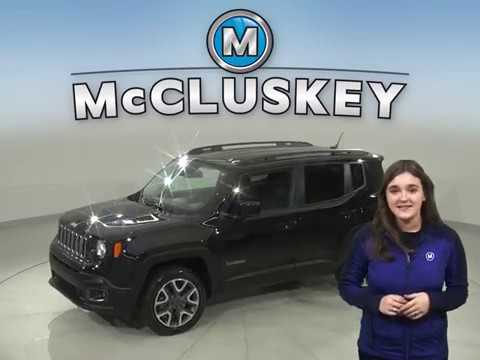 A16742TA Used 2016 jeep Renegade Black SUV Test Drive, Review, For Sale -