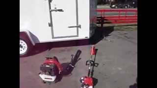 Snapper Pro S150 52'' Deck 22 Hp Kawasaki Package Deal With Enclosed Trailer