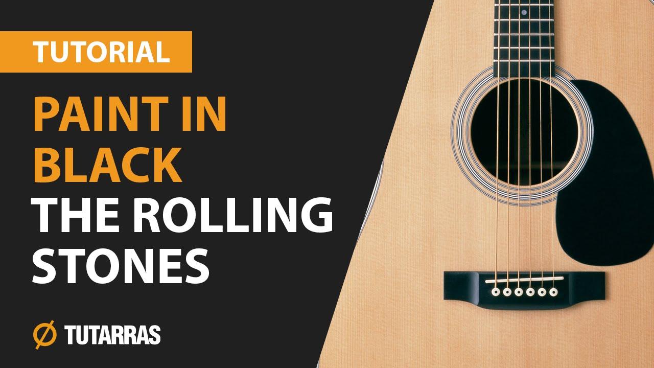"""Cómo tocar """"back in black"""" de ac/dc en guitarra acústica (hd."""