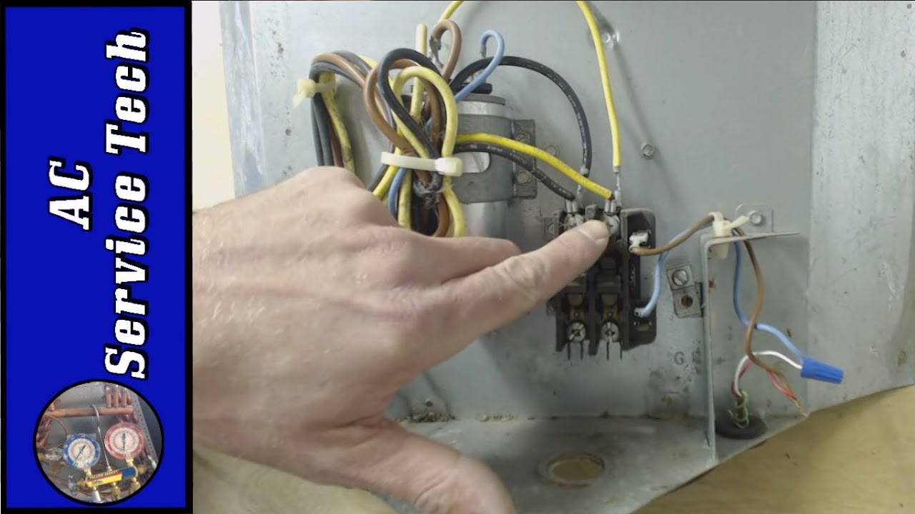 Diy Air Conditioner No Electricity Wiring An Outdoor Condenser What Each Of The Wires Is