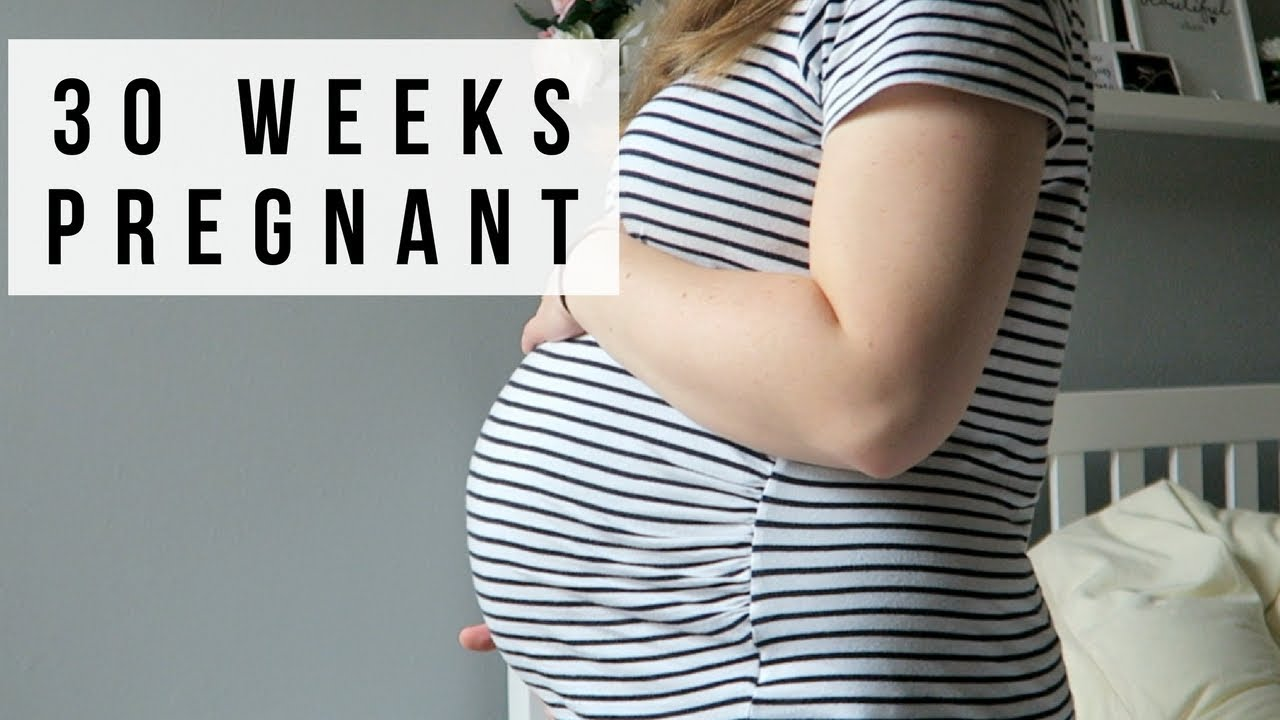 30 WEEKS PREGNANT | PELVIS PAIN LIGHTNING CROTCH & BABY ...
