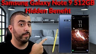 Samsung Galaxy Note 9 512GB Hidden Benefit for Samsung Users - YouTube Tech Guy