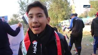 أهالي قضاء المسيب بمحافظة بابل  يتظاهرون للمطالبة بتحسين الخدمات والبنى التحتية