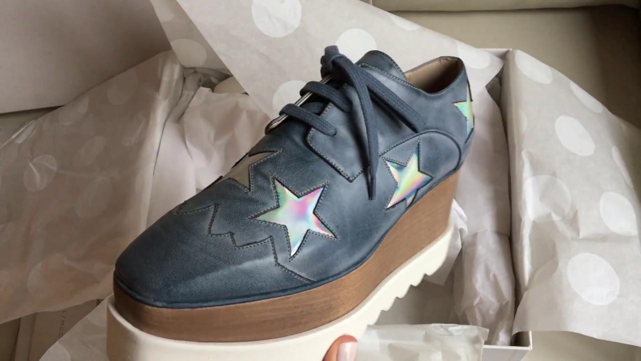 Stella McCartney Elyse Stars Sneakers O19CWLGad