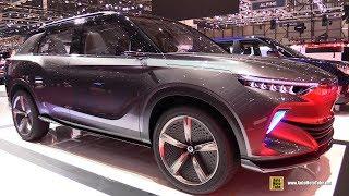 Ssang Yong E-Siv Concept - Walkaround - 2018 Geneva Motor Show