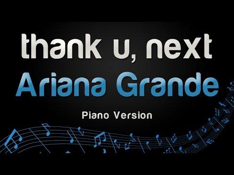 Ariana Grande - Thank U, Next (Piano Version)