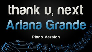Ariana Grande thank u next Piano Version