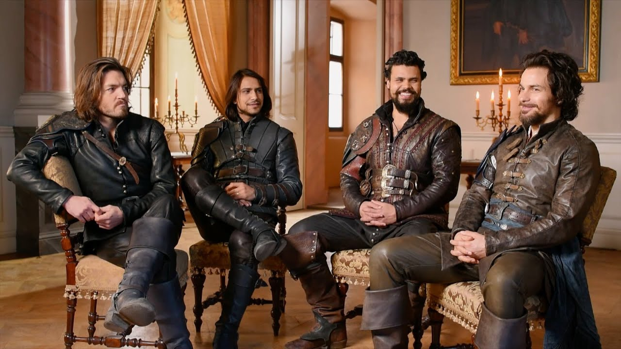 War. villains and reuniting - The Musketeers: Series 3 - BBC One - YouTube