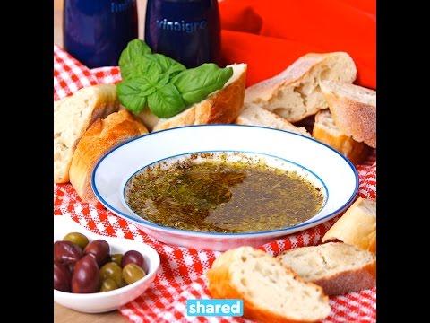 Olive Oil & Balsamic Bread Dip   Appetizer