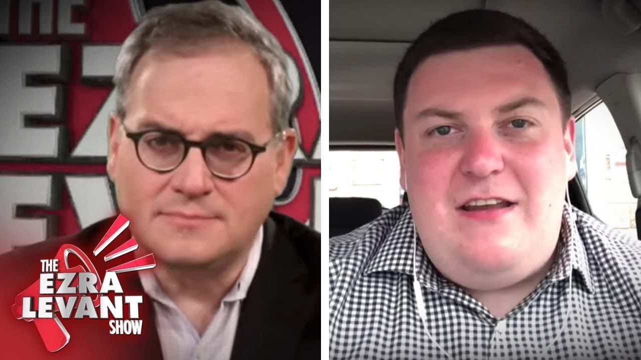 Andrew Lawton detained by police for following Liberal campaign bus | Ezra Levant
