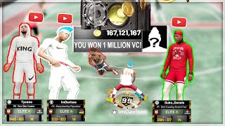CAN YOU CLAMP TOP YOUTUBERS FOR 1 MILLION VC? w  duke dennis, tyceno, gman, LaMonsta, + more my park