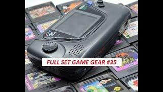 Le Full Set monḋial Sega Game Gear #35