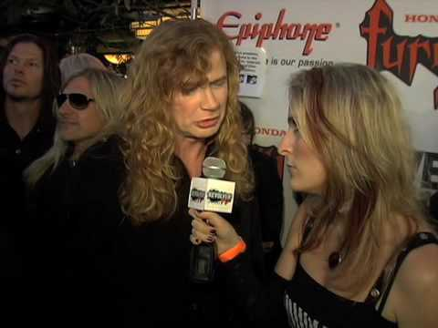 Full Metal Jackie Interviews Dave Mustaine of Megadeth