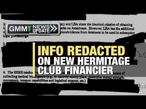GMMT: Info Redacted on New Hermitage Club Financier 5/1/18 (News Clip)
