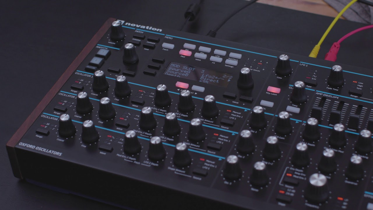 Novation Peak 8-Voice Polyphonic Synthesizer