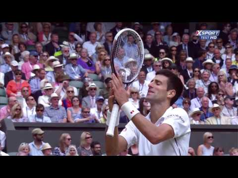Roger Federer vs  Novak Djokovic   Wimbledon 2014 Final