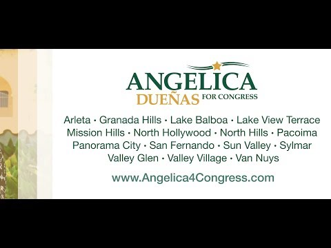 Angelica Duenas for US Congress in California's District 29 Interview