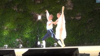 Jessica Overton and James Fraser Flower Festival in Genzano Varna 2014
