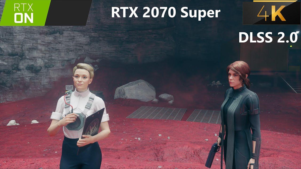 Control Photo-realistic Graphics - Foundation DLC - RTX+High - 4K+Ultra - DLSS 2.0 - 2070 Super