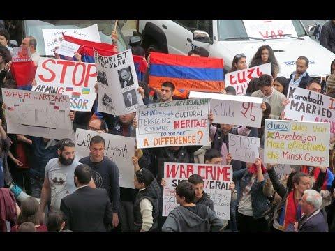 Участники митинга в Ереване осудили действия России и бездействие ОБСЕ