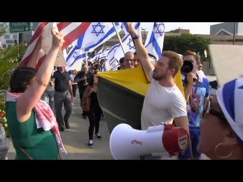 Baltimore Hosts Dueling Rallies Over Israel's Gaza Assault