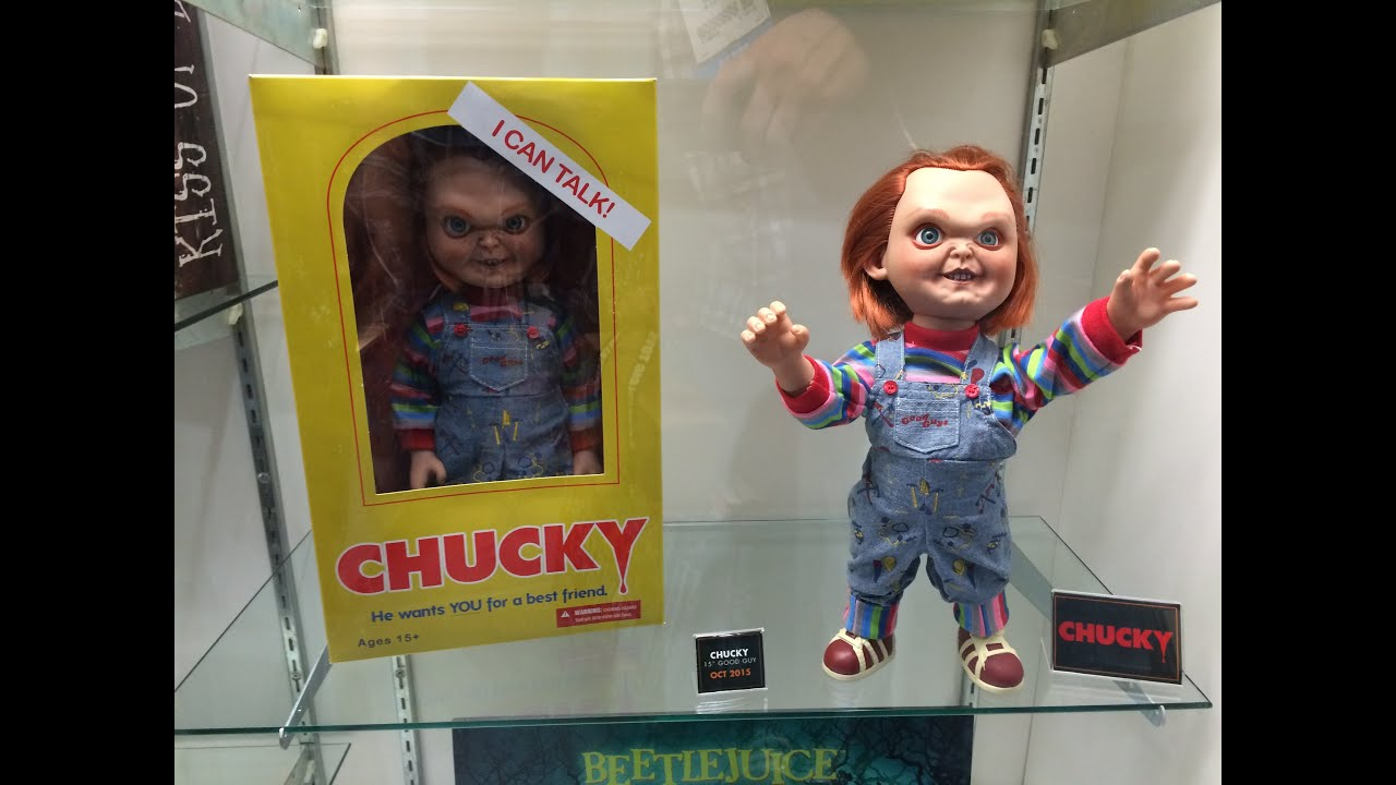 Toys R Us Chucky : Chuck talking figure mezco brinquedo assassino youtube
