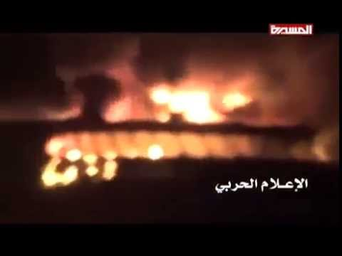 Watch how Houthis Yemeni army destroyed UAE army HSV ship By Mocha port Bab al-Mandab strait