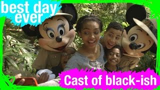 The Cast of ABC's black-ish Has the BEST DAY EVER at Walt Disney World | BDE | WDW Best Day Ever