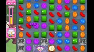Candy Crush Saga - level 1143 (3 star, No boosters)