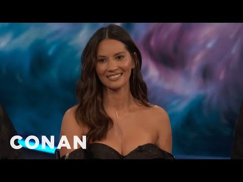 Olivia Munn On The Struggles Of Working With Men  - CONAN on TBS