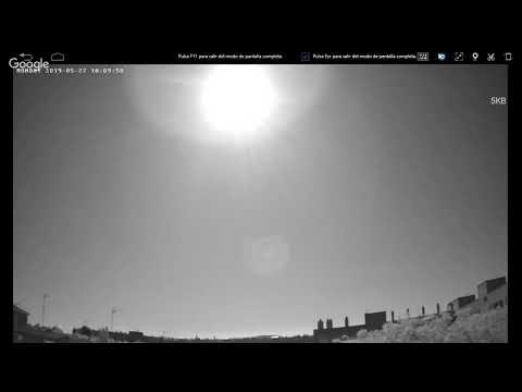 21 WEBCAM Cazadores de Ovnis - Ovinis , Objetos Voladores Infrarojos No Identificado