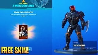 *FREE* SKIN REWARD BUG in Fortnite! (HOW TO CLAIM FREE SCIENTIST SKIN NOW)