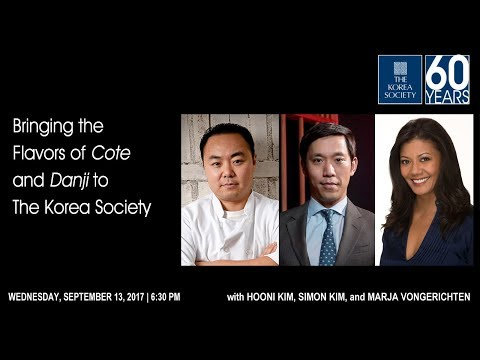 Bringing the Flavors of Cote and Danji to The Korea Society