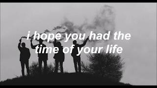 Green Day - Good Riddance (Lyrics)