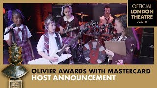 School Of Rock announce the host for the 2019 Olivier Awards