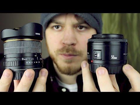The Lenses I Use
