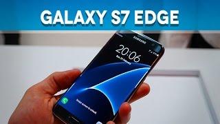Samsung Galaxy S7 Edge, prise en main (MWC16) - Test Mobile