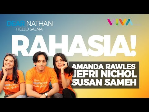 KETAHUAN!! Jefri Nichol, Amanda Rawles, Susan Sameh Ternyata.. [ Dear Nathan: Hello Salma ] Mp3