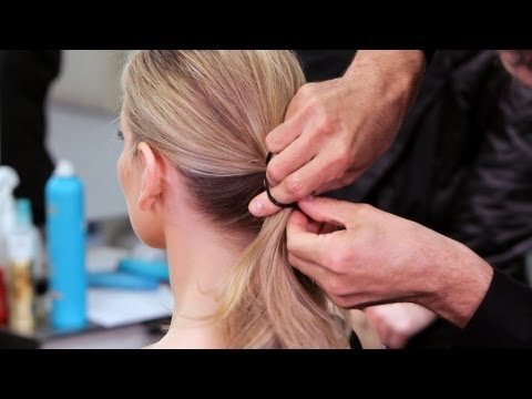 How to Do a Low Ponytail | Long Hairstyles