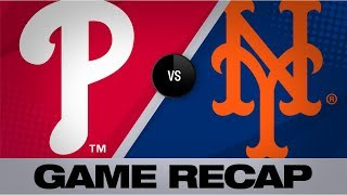 Smyly, offense lead Phils past Mets | Phillies-Mets Game Highlights 9/7/19